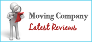 Latest Moving Companies Reviews