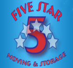 5 Star Moving and Storage logo