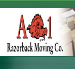 A-1 Razorback Moving Company logo