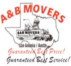 A&B Movers logo