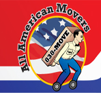 All American Movers logo