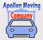 Apollon Moving Company logo