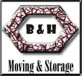 B & H Moving & Storage logo