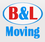 B & L Moving logo