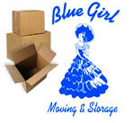 Blue Girl Moving & Storage logo