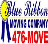 Blue Ribbon Moving Co logo