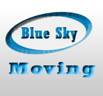 Blue Sky Moving logo