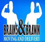 Brains-Brawn-Moving-Delivery logos