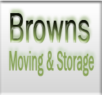 Browns Moving and Storage logo
