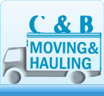 C-B-Moving-Hauling logos