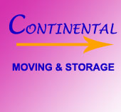 Continental Moving & Storage logo