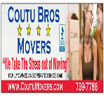 Coutu Brothers Movers logo
