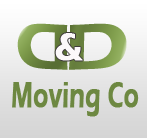 D & D Moving Co logo