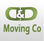 D & D Moving Co logo