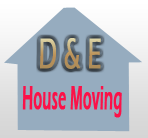 D-E-House-Moving logos