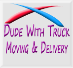 Dude With Truck Moving & Delivery logo