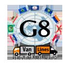 G8 Van Lines logo