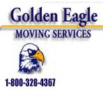 Golden Eagle Moving Services logo