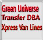 Green Universe Transfer DBA Xpress Van Lines logo
