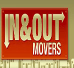 In and Out Movers logo