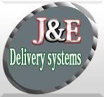 J & E Delivery systems logo