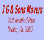 J G & Sons Moving Labor logo