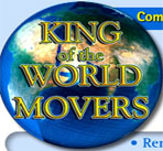 King Of The World Movers logo