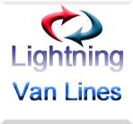 Lightning Van Lines logo