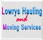 Lowrys Hauling and Moving Services logo