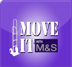 Move It With M & S logo
