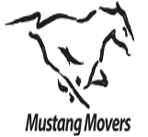 Mustang Moving logo