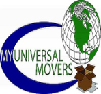 My universal movers logo