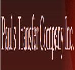 Pauls Transfer Co., Inc. logo