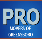 Pro Movers of Greensboro logo
