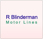 R Blinderman Motor Lines Inc logo