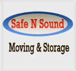 Safe N Sound Moving and Storage logo