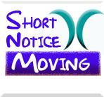 Short Notice Moving logo