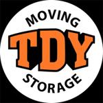 TDY MOVING logo