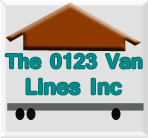 The 0123 Van Lines Inc logo