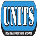 UNITS Moving and Portable Storage logo