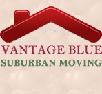 Vantage Blue Suburban Moving logo