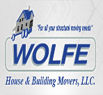 Wolfe House & Building Movers, LLC logo