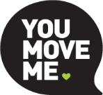 You Move Me Cincinnati logo