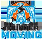Thunder-moving logos